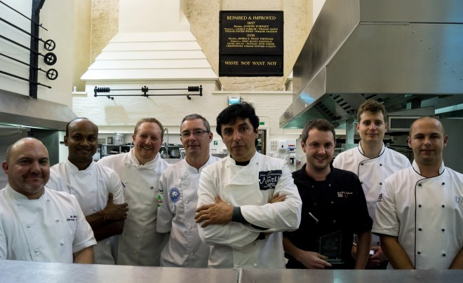 blue arrow chef of the year 2013